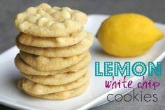 Renee might like these- LEMON WHITE CHOCOLATE COOKIES