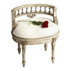Artists' Originals Vanity Seat in Cream