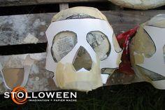How To: Ancient Skulls – STOLLOWEEN