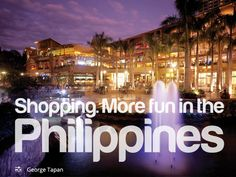 It's More Fun in the Philippines Jollibee, Pinoy, Manila, More Fun, Tourism, Culture, Bump, Travel, Shopping