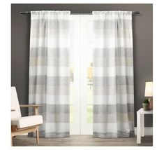 Find product information, ratings and reviews for Set of 2 Bern Rod Pocket Window Curtain Panels Exclusive Home online on Target.com.