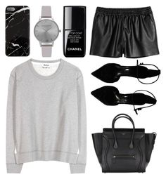 """""""walks"""" by grey-eyes ❤ liked on Polyvore featuring Olivia Burton, le top, Acne Studios and Burberry"""