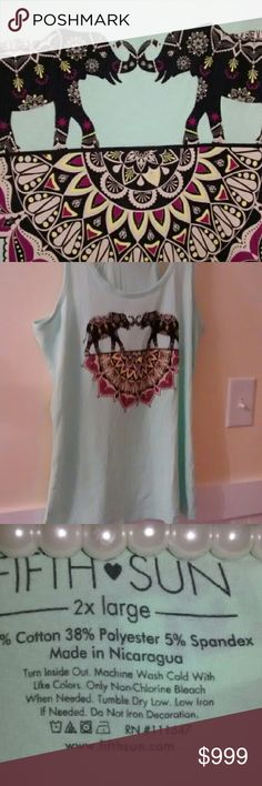 NWT Plus size Super comfy workout tank Cotton tank top great with jeans or leggins. So fun and fashionable. Wear working out or staying home binge watching TV ! Tops Tank Tops