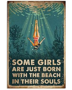 Swimming The Beach With Their Souls Vintage Design Gift For Friends Vertical Poster - Golderkey.co Illustrations, Illustration Art, Dessin Old School, Ocean Quotes, Quotes About The Ocean, Beach Quotes, Lose My Mind, Art Plastique, Losing Me