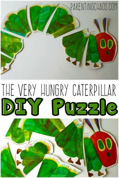 The Very Hungry Caterpillar DIY Puzzle: Bring this classic Eric Carle book to life with this delightful DIY puzzle.