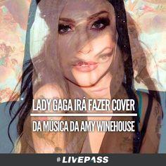 É isso mesmo, a #LadyGaga irá gravar um #cover de uma das canções de #AmyWinehouse, porém não será para o seu próximo álbum, #Joanne #Livepass