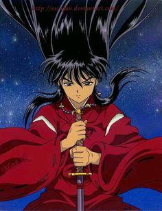 5 Anime, Chica Anime Manga, Anime Shows, Anime Love, Anime Guys, Anime Art, Inuyasha Fan Art, Inuyasha And Sesshomaru, Kagome And Inuyasha