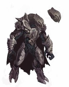 Halo Wars just came out, so now I can show the world how I almost completely defaced one of the icons of video-gaming history: Halo's Arbite. Alien Concept Art, Armor Concept, Fantasy Warrior, Fantasy Art, Odst Halo, Halo Game, Halo 5, Space Opera, Character Art