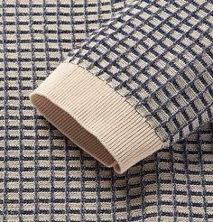 Knitting Stitches, Knitting Designs, Textiles, Pull Jacquard, Knitwear Fashion, Ladies Knitwear, Men's Knitwear, How To Purl Knit, Crochet Yarn