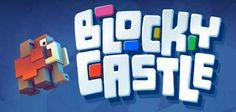 """BLOCKY CASTE per iPhone e Android - una pericolosa (ma divertente) scalata! Con """"Blocky Castle"""" per Android e iPhone potrete godervi un divertentissimo arcade ricco di azione!  Scegliete il vostro personaggio preferito fra i tantissimi disponibili (buona parte dei quali so #android #iphone #videogiochi #indie"""