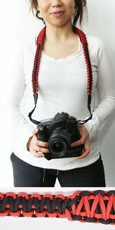 Durable paracord camera straps. www.strap550.com #strap550 #paracord550 #camerastrap #photography #photo # pix #unique #rt $55 Paracord Camera Strap, Camera Straps, Parachute Cord, Paracord Bracelets, Patterns, My Style, Unique, Crafts, Diy