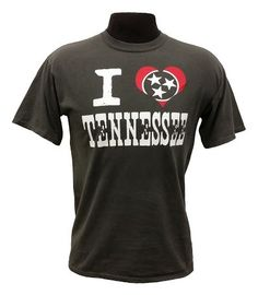 "This Comfort Colors tee features ""I Heart Tennessee"" across the front.  #Borolife #MTSU #textbookbrokers"