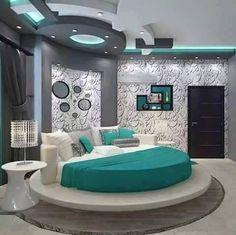 20 Modern Bedroom Design Ideas For a Perfect Bedroom - Decor Units Bedroom False Ceiling Design, Luxury Bedroom Design, Modern Home Interior Design, Bedroom Bed Design, Bedroom Furniture Design, Home Room Design, Bedroom Decor, House Design, Bedroom Designs
