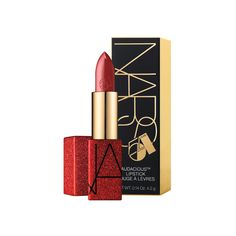 Shop NARS' Studio 54 Audacious Lipstick at Sephora. This limited-edition themed Audacious Lipstick comes in the bestselling shade, Mona. Nars Audacious Lipstick, Nars Lip, Studio 54, Makeup Lipstick, Liquid Lipstick, Nars Cosmetics, Lotion, Makeup Gift Sets, Lip Palette