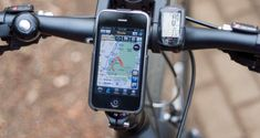 Combine your mobile device with cycling to make your rides as hassle free as possible