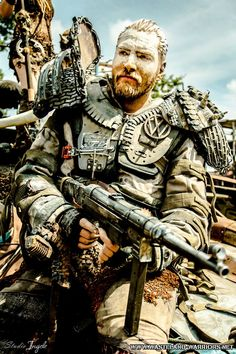 wasteland warriors postapo wasteland postapocalyptic wacken fallout raider mad max borderlands wasteland2 distressed dieselpunk dark future apocalyptic https://www.facebook.com/wasteland.warriors.net Photo by Roel van Engelen