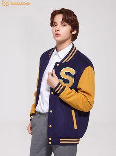 200116 X Skoolooks Namjoon, Kai, Korean K Pop, Fandom, Bts Pictures, Looks Style, Korean Singer, Future Husband, Boy Bands