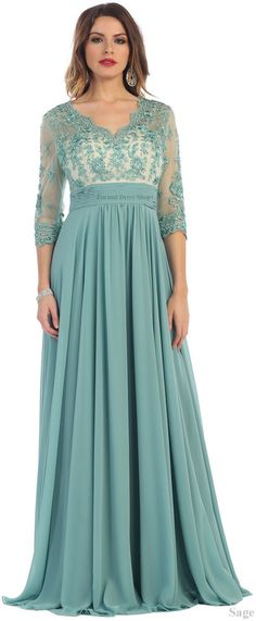 NEW FORMAL EVENING LONG GOWN MOTHER of THE BRIDE GROOM DRESS CHURCH & PLUS SIZE  #Designer #Dress