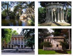 Visita guiada al parque de El Capricho, (Madrid), viernes 6 de diciembre de 2013