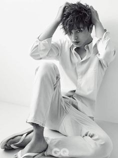 """Yook Sung Jae who played the brattybut lovable Duk Hwa in """"Goblin"""" spent some time delighting fans in the March issue of GQ. Check it out! Source 