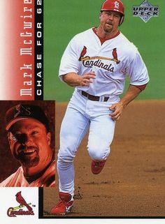 88 Best Mark Mcgwire Images In 2019 Baseball Cards Baseball Mlb