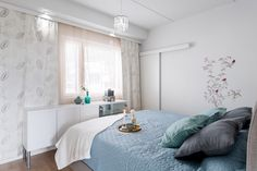 Bedroom, Styled by Riina Ahtola, Lila Visio - Photo by Tomi Heikkinen