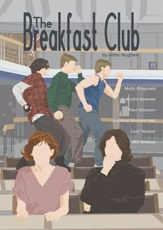 BROTHERTEDD.COM The Breakfast Club, Breakfast Club Quotes, Iconic Movies, Classic Movies, Funny Movies, Old Movies, Movie Prints, Poster Prints, Anthony Michael Hall