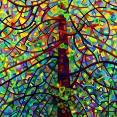 Abstract Fine Art Print  Kaleidoscope by budanART on Etsy, $18.00