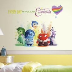 Disney / Pixar Inside Out Peel and Stick Wall Decals