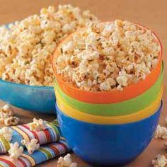 Ranch popcorn... because I LOVED it at Knox's birthday party!