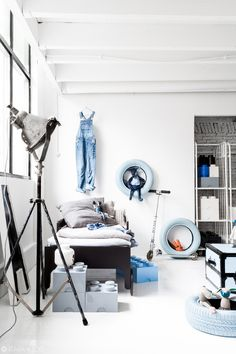 cool child room with Rafa-kids toddler bed- styling Paulina Arcklin/photo Rafa-kids