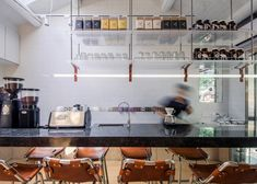 Office AIO transforms Beijing hutong into tiny coffee bar