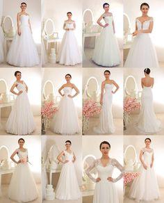 12 photos de la collection mariage 2015 de Veronika Jeanvie