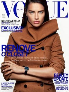 Adriana Lima Covers Vogue Brazil August 2016 - Art of Fashion