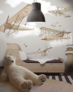 Adventurous bedroom decoration for your boy's room #bedroomdesign kids bedroom #sweetdesginideas modern design #kidsroom . See more inspirations at www.circu.net