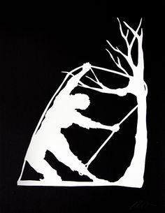 Bid now on Snared by Kara Walker. View a wide Variety of artworks by Kara Walker, now available for sale on artnet Auctions. Kara Walker, Walker Art, African American Artist, American Artists, Kehinde Wiley, Artistic Installation, Art Festival, Black Art, New Art