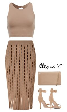 """Untitled #71"" by styledbyalexis ❤ liked on Polyvore featuring Alexander Wang, Gianvito Rossi and Hobbs"