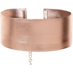 Pink Wide Metallic Choker (24 PEN) ❤ liked on Polyvore featuring jewelry, necklaces, choker, accessories, pink necklace, metallic jewelry, choker jewelry, choker necklace and pink jewelry