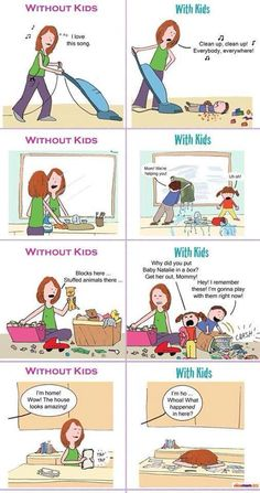 Yup!  So WHY I enjoy cleaning for my clients. :)  Less Frustration. Mommy Needs A Break http://roflburger.com