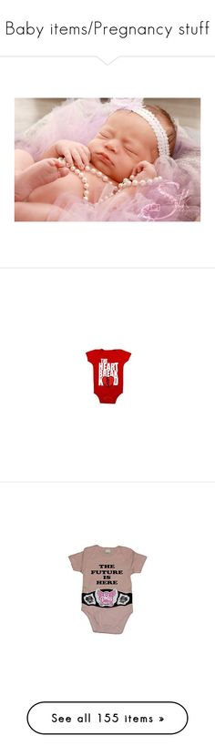 """""""Baby items/Pregnancy stuff"""" by serenamarie273 ❤ liked on Polyvore featuring wwe, tops, t-shirts, animal tees, rabbit t shirt, special occasion tops, toby tiger, longsleeve t shirts, bags and backpacks"""