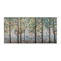 Daytime Forest Canvas Art Print