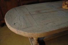 Bleached Oak Monastery Table