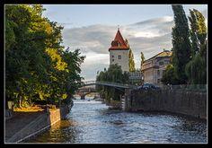 River lock on Vltava by Petar Lackovic