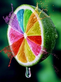 Image uploaded by . Find images and videos about colors, rainbow and fruit on We Heart It - the app to get lost in what you love. Taste The Rainbow, Over The Rainbow, World Of Color, Color Of Life, Rainbow Colors, Vibrant Colors, Rainbow Fruit, Colorful Fruit, Fun Fruit