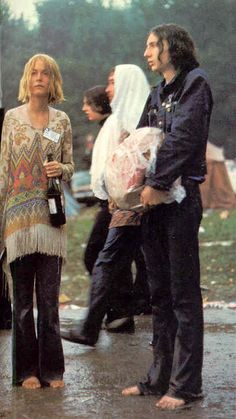 The wine bottle hippie...she's me....