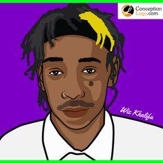 Wiz Khalifa 2018 - Cartoon Art - Caricature Picture