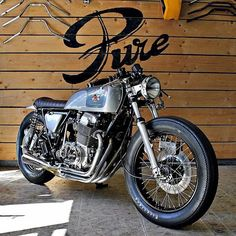 Honda CB750 cafe racer | Pure Motorcycles
