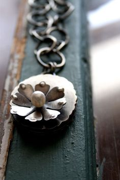Bloom Bright Necklace: beautiful necklace sterling & pearl