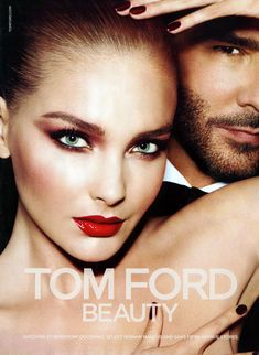 Snejana Onopka Pops in Tom Fords Fall 2012 Beauty Campaign by Mert & Marcus