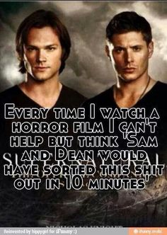Yep... Supernatural